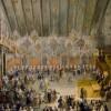 Antonio Stom (1688 – Venezia, 1734), attr. Ballo in onore di Violante De' Medici* olio su tela, 1717c.