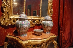 Dettaglio arredi Sala 9, Museo di Palazzo Mocenigo