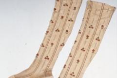 Calze maschili, 1750/1800, Museo di Palazzo Mocenigo
