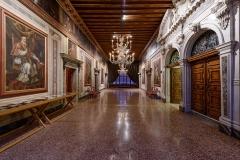 Portego al primo piano nobile, Museo di Palazzo Mocenigo