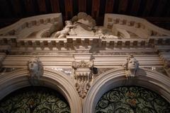 Decorazione del Portale d'ingresso al primo piano nobile del Palazzo, Museo di Palazzo Mocenigo